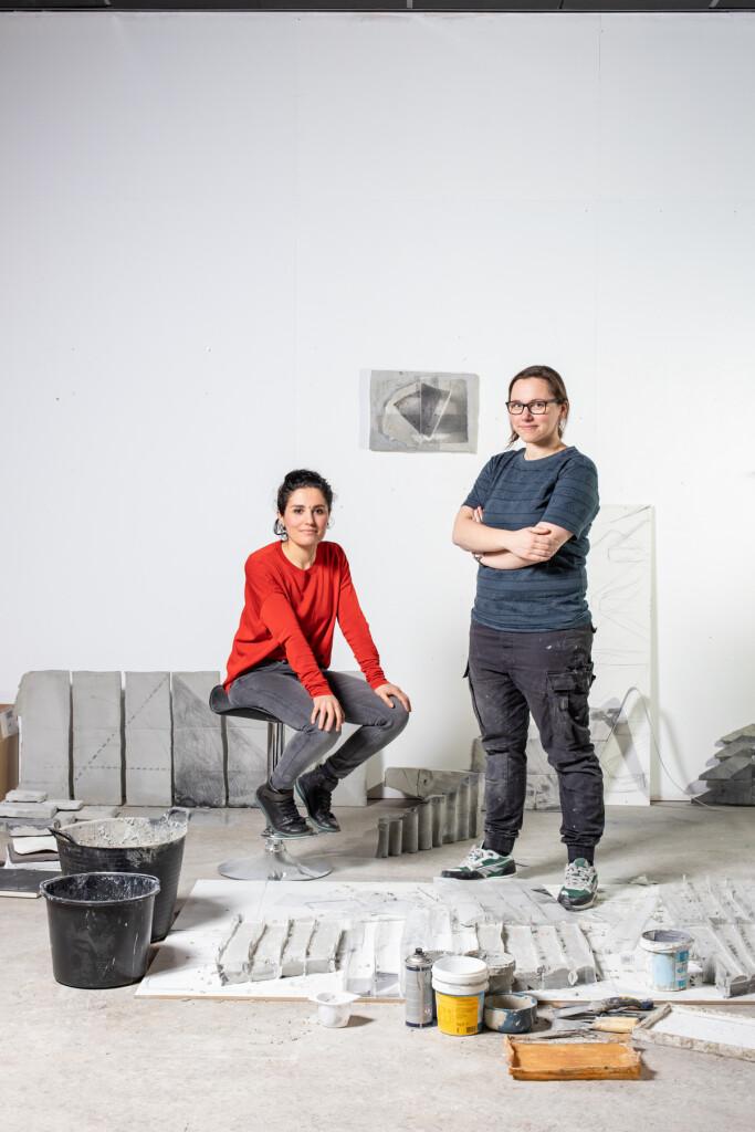 Dubbelportret Maaike Kramer en Natalia Ossef voor K.F. Hein Fonds - Foto Billie-Jo Krul